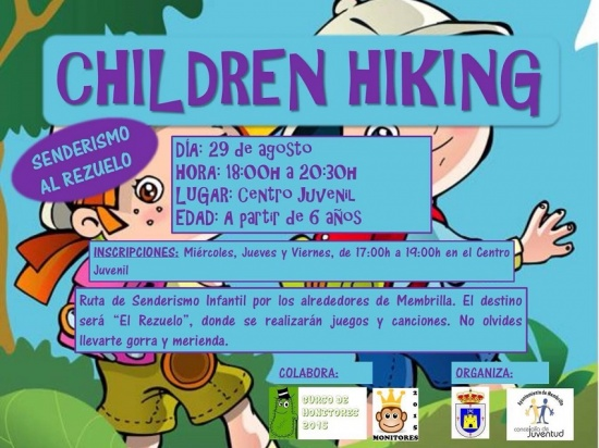 Senderismo para niños: Children Hiking