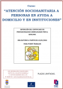 Curso de Atención socio-sanitaria a personas en ayuda a domicilio y en instituciones