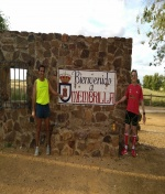 El Chiki Perez y los atletas locales que participaran en la Maratón  y 50 km  el próximo 27 de mayo os  dan la bienvenida y os invitan a que los acompañéis.