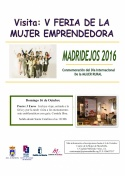Visita en Madridejos la V Feria de la Mujer Emprendedora