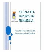 XII Gala del Deporte de Membrilla