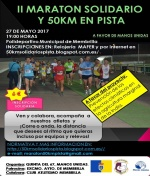 II Maratón Solidario y 50 km.en Pista