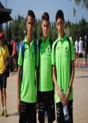 Carlos Moraleda roza la medalla de bronce  en Granollers