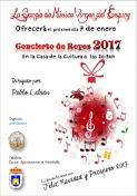 """Concierto de Reyes de la Banda """"Virgen del Espino""""."""