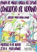 Concierto de Verano de la Banda Virgen del Espino