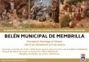 Visita el Belén elaborado por el taller de belenismo de la Universidad Popular