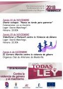 Actos del Día Internacional de la eliminación de la Violencia contra las Mujeres