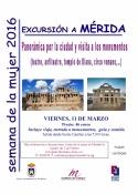 Excursión a Mérida con motivo de la Semana de La Mujer 2016