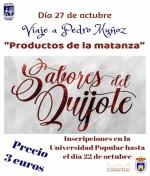 Viaje a Sabores del Quijote en Pedro Muñoz