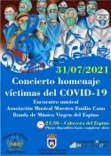 Concierto Homenaje a las Víctimas del Covid