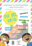 El Ayuntamiento de Membrilla celebra el Día del Niño.