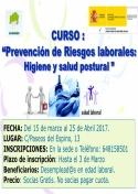 Afammer organiza curso de Prevención de Riesgos Laborales: Higiene y Salud Postural.