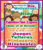 Ven a celebrar el Día Universal del Niño