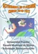 Actividades de Clausura de los cursos de la Universidad Popular