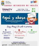 Curso intensivo de Ingles con obtención de título oficial