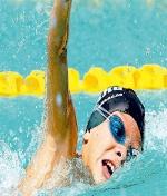 Los nadadores de Membrilla brillan en la liga territorial de natación.