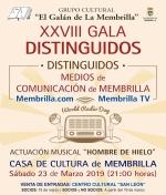 XXVIII Gala Distinguidos