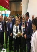 Ferimel en la inauguración de Fruit Attraction 2017