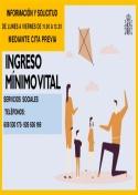 Atención con cita previa en el Centro de Servicios Sociales para solicitud del Ingreso Mínimo Vital.