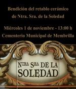 La Hdad. de la Soledad colocará en el cementerio un retablo cerámico con la imagen de su titular