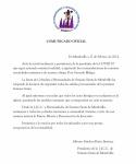 Comunicado Oficial de la Junta de Cofradías referente a la suspensión de Procesiones de Semana Santa
