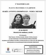 2ª Masterclass Flauta Travesera y Clarinete