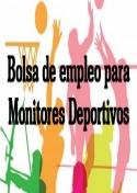 Listado provisional de la puntuación  del proceso selectivo  Monitores de las Escuelas Deportivas.