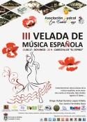 """III Velada de Música Española de la Asociación Musical """"Maestro Emilio Cano"""""""