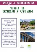 Excursión a Segovia y La Granja organizada por Afammer