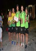 Cinco Podios y veinte grandes actuaciones en la dura Carrera de Piedrabuena