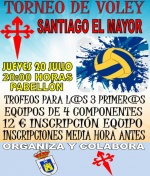 Torneo de voley Santiago el Mayor