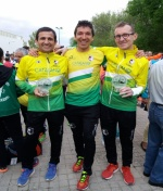 Tres atletas membrillatos pertenecientes al C.A. Membrilla lucharan por conseguir la minima para el campeonato de España absoluto de 100km.