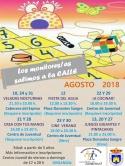 Actividades del Centro Juvenil durante el mes de Agosto de 2018