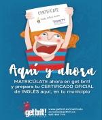 Certificaté Aquí y Ahora: Obtén tu título oficial de inglés.