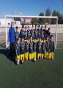El Alevín A de Fútbol, clasificado como primero de grupo para la semifinal