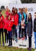 El equipo femenino del Club Atletismo Membrilla logra el campeonato regional Máster