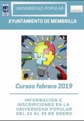 Cursos de Febrero de la Universidad Popular