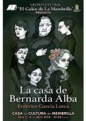 """""""La Casa de Bernarda Alba"""", Próxima puesta en escena del Grupo Cultural El Galán de la Membrilla"""