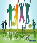 Publicación de admitidos y excluidos de la oferta de empleo para Monitores de Cursos de Deportes Verano de 2017