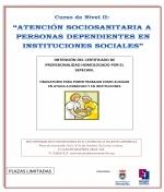 """Curso de """"Atención Sociosanitaria a personas dependientes en Instituciones Sociales"""""""