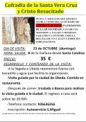 Excursión a Úbeda y Baeza organizada por la Cofradía de La Veracruz