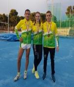 Tres medallas en la segunda jornada del Campeonato Regional