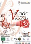 """Velada de Música Española de la A. Músical """"Maestro Emilio Cano"""""""