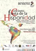 """Concierto Fiesta de la Hispanidad de la Asociación Musical """"Maestro Emilio Cano"""""""
