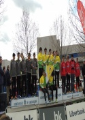 El Club Atletismo Membrilla, doble campeón regional de Cross