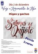 Viaje a Argamasilla de Alba a Sabores del Quijote.