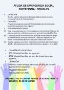 Ayuda de Emergencia Social Covid-19