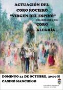 """Coro Rociero """"Virgen del Espino"""""""