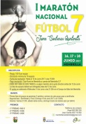 """I Maratón Nacional de Fútbol 7 """"Jaime Contreras Quintanilla"""""""