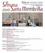 La Parroquia Santiago el Mayor con la colaboración de Membrilla Tv. informa de los actos de Semana Santa 2020